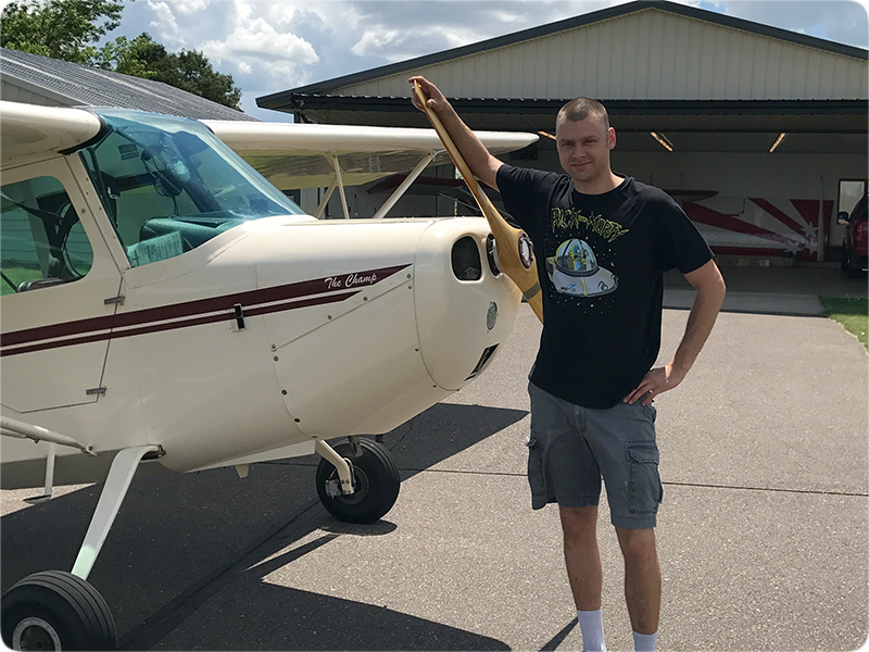 Jeremy Allington - Tailwheel Endorsement