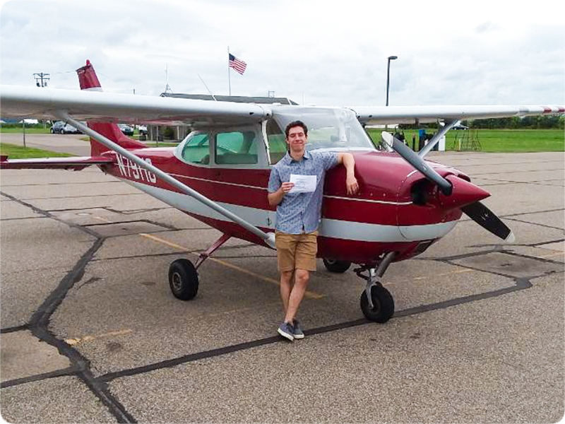 Nick Lindsey - Private Pilot
