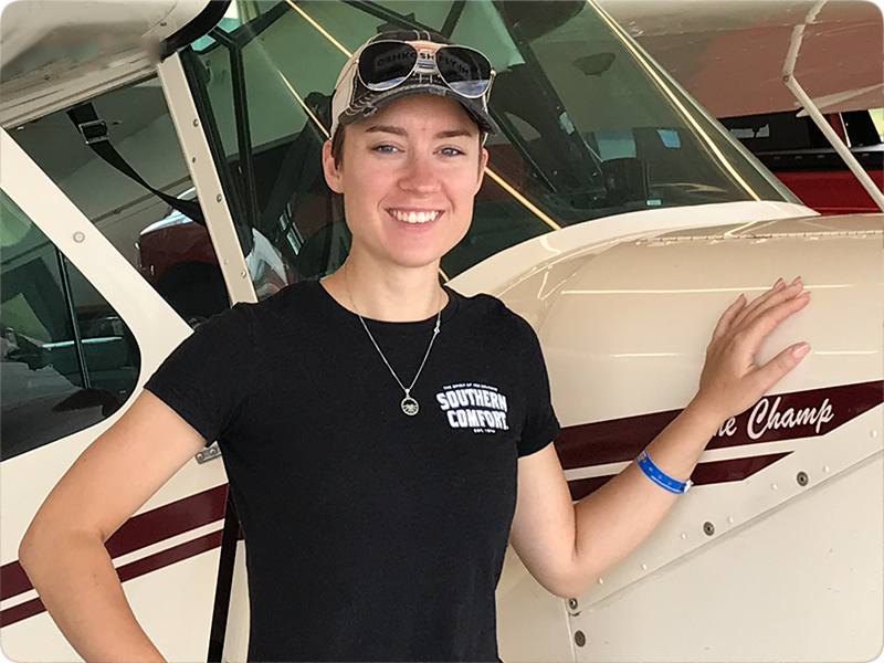 Roxy VanDusartz - Tailwheel Endorsement