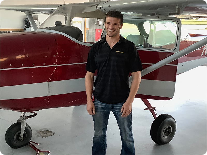 Judd Andrews - Private Pilot
