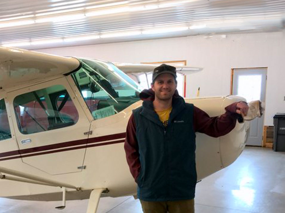Nate Kranz - Tailwheel Endorsement