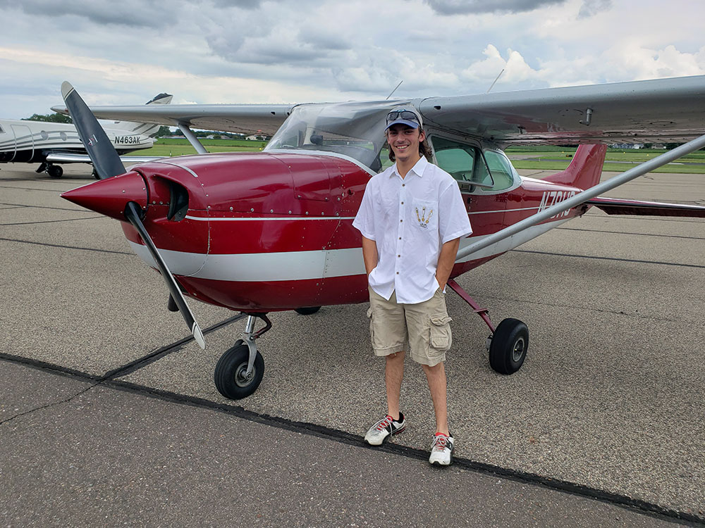 Jacob Sorenson - First Solo
