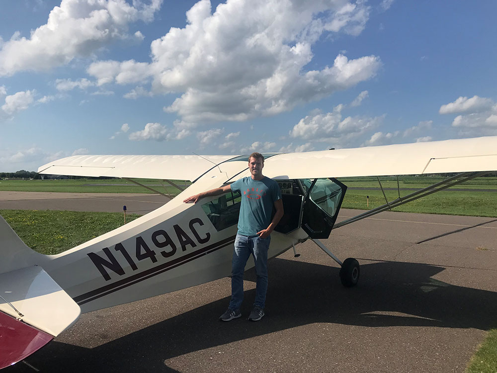 Ty McDonald - Tailwheel Endorsement